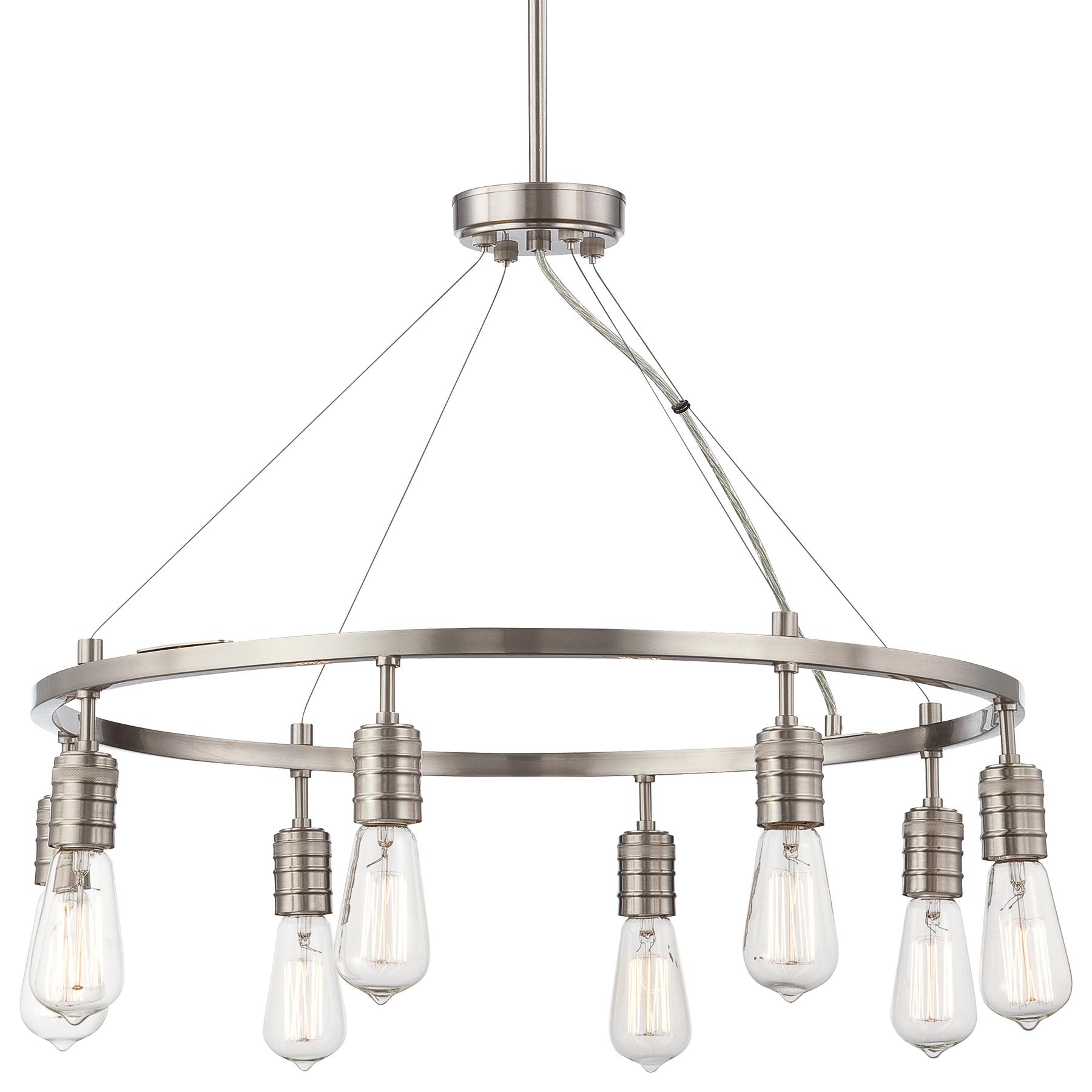Downtown Edison - 8 Light Chandelier  sc 1 st  Minka Group & Minka Group® :: BRANDS :: Minka-Laveryu0026reg; :: 4138-84
