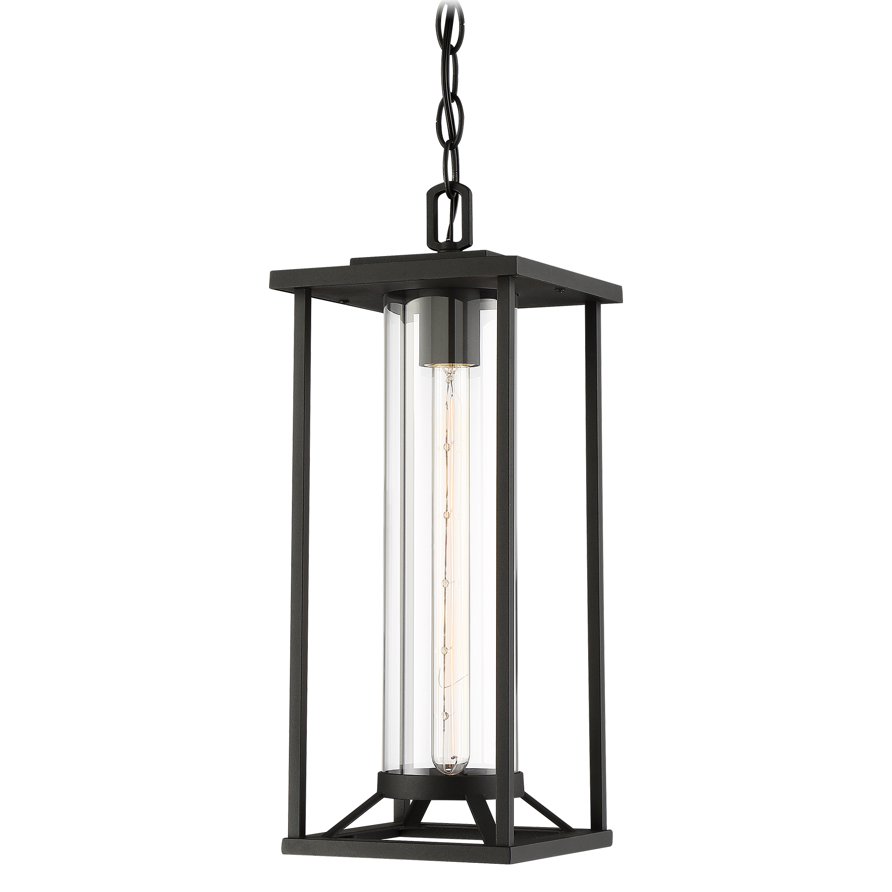 Minka group brands the great outdoorsreg 72474 66 trescott 1 light chain hung aloadofball Images