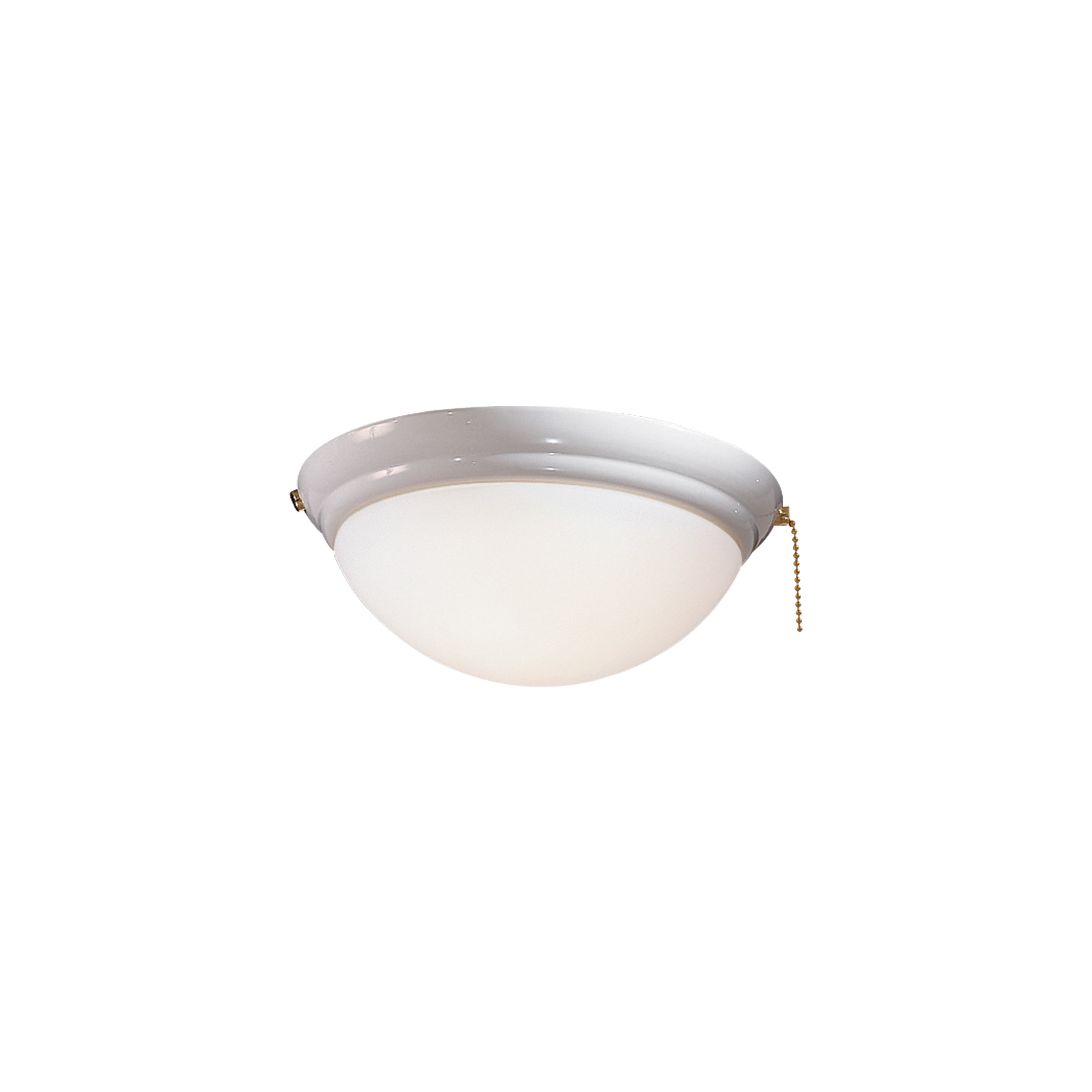 10.25 One Light Bowl Kit White Finish with Etched Opal Glass Minka Aire K9374-L-WH Accessory