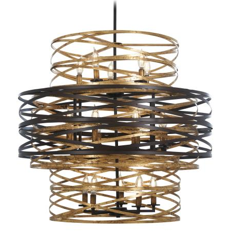 Minka group interior lighting ceiling chandelier vortic flow 18 light chandelier aloadofball Images
