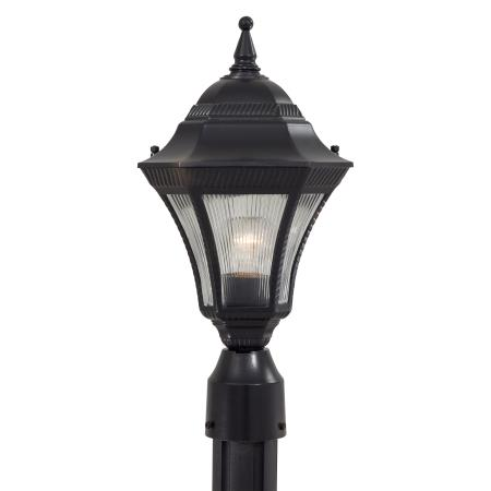 Segovia 1 Light Outdoor Post Mount