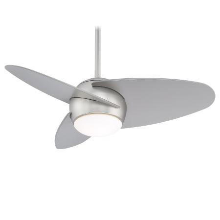 Minka group fans indoor slant led 36 ceiling fan f410l bs minka aire aloadofball Images