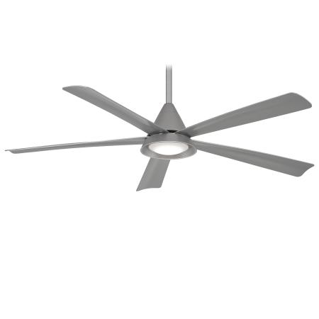 Minka group fans indoor cone led 54 ceiling fan f541l sl minka aire mozeypictures Choice Image